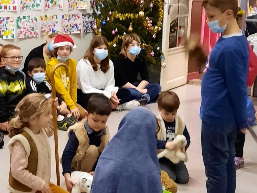 L'histoire de Noël, racontée aux enfants.